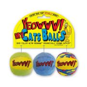 Yeowww My Cats Balls Pack of 3 Cat Toys